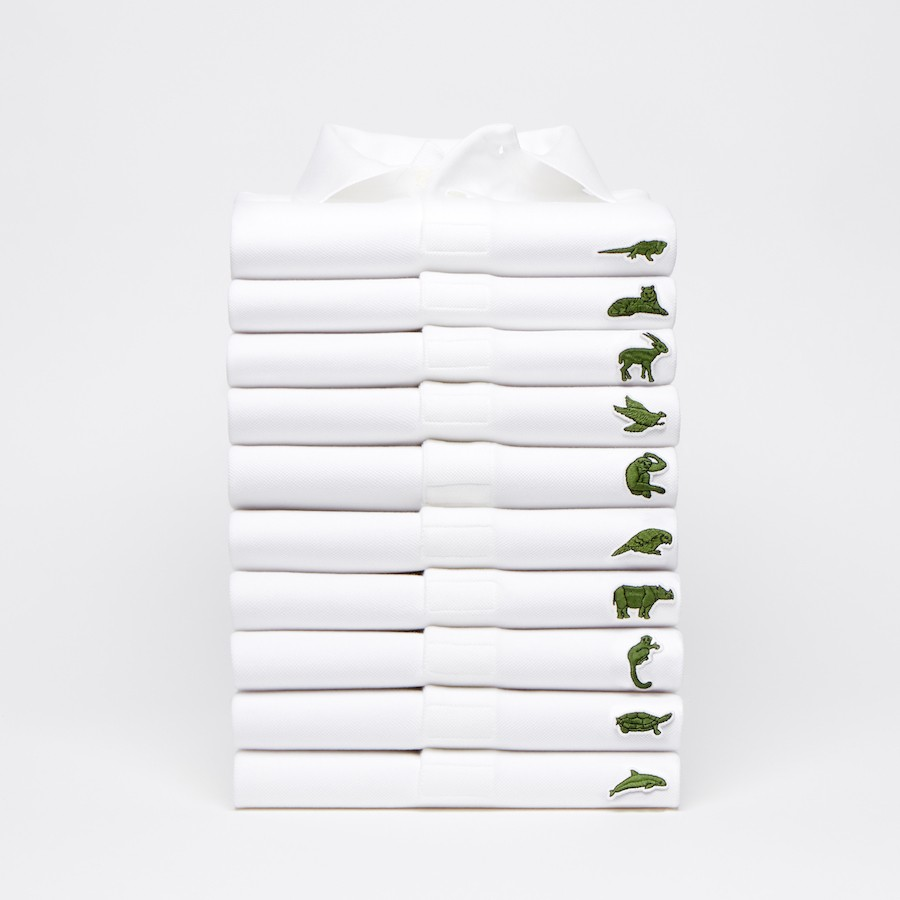 Lacoste Limited Edition Polo Shirts With Endangered Animals Logo Sell Out Immediately