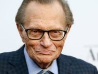 Television and radio host Larry King attends Larry King's 60th Broadcasting Anniversary Event at HYDE Sunset: Kitchen + Cocktails on May 1, 2017 in West Hollywood, California. (Photo by Rich Fury/Getty Images)
