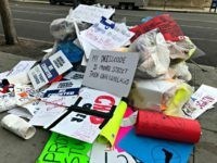 March for Our Lives Trash