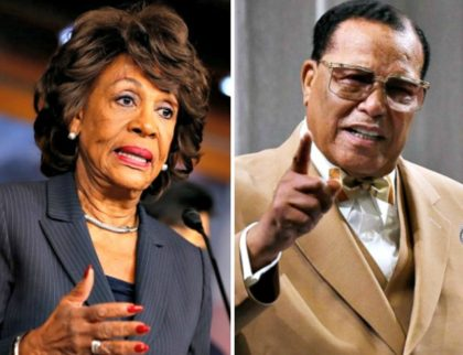 Maxine Waters Louis Farrakhan