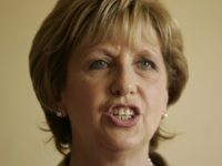 Ireland's President Mary McAleese speaks during a tour of the southern Lebanese town of Tibnin where she visited Irish troops serving with the United Nations Interim Force in Lebanon (UNIFIL) October 15, 2011. The UN peacekeeping force was expanded after a devastating 2006 war between Israel and the Lebanese Shiite …