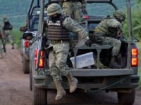 VIDEO: Cartel Ambushes Mexican Soldiers Near Texas Border