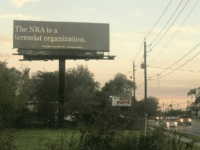 A PAC founded by a former Clinton staffer erected a billboard …