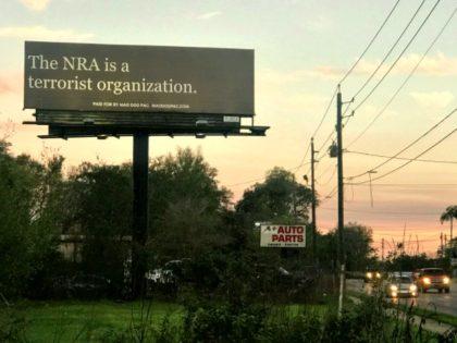 NRA Terrorist Billboard