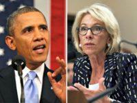 Obama betsy-devos