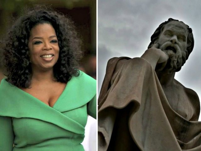 Oprah and Socrates Getty Images