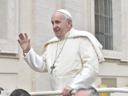 Pope Francis at weekly general audience, March 28, 2018.
