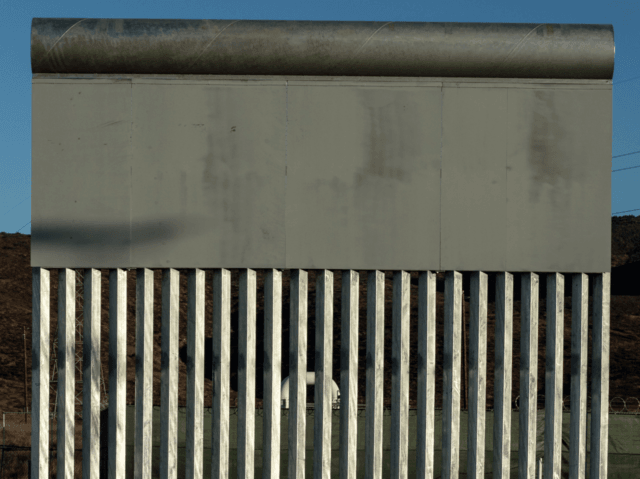 President's preferred border wall (Guillermo Arias / AFP / Getty)
