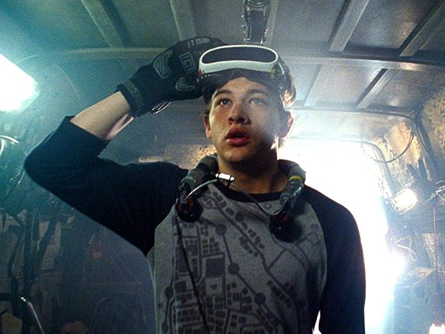 Tye Sheridan in Ready Player One (Warner Bros. Picture, 2018)