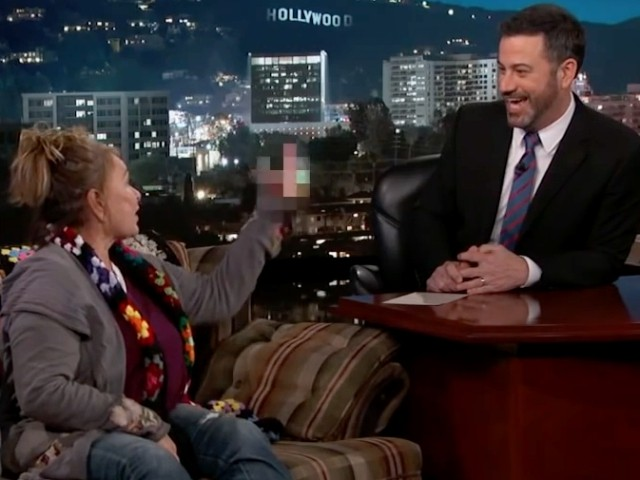 Roseanne Barr to Jimmy Kimmel: 'We Don't Want to See Our President Fail, so Zip that F***ing Lip'