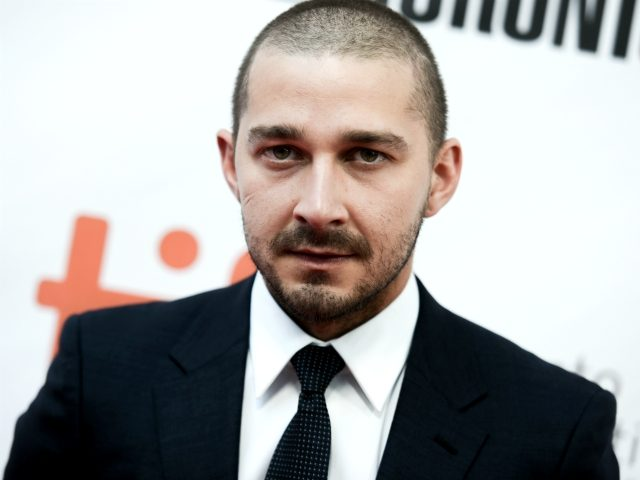 "Actor Shia LaBeouf attends a premiere for ""Man Down"" on day 6 of the Toronto International Film Festival at Roy Thomson Hall on Tuesday, Sept. 15, 2015, in Toronto. (Photo by Richard Shotwell/Invision/AP)"