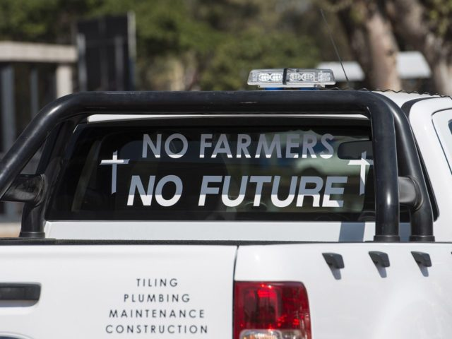 South Africa farmers (David Harrison / AFP / Getty)