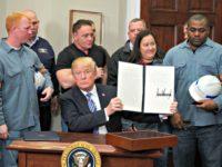 Steel Workers, Trump