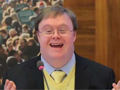 Man with Down Syndrome Tells U.N. 'I Am a Human Being, Not a Birth Defect'