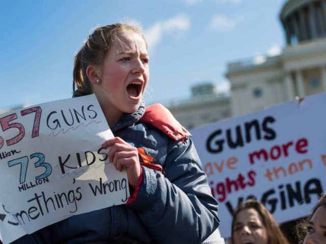 New Prague school criticized for banning pro-gun sign during protest