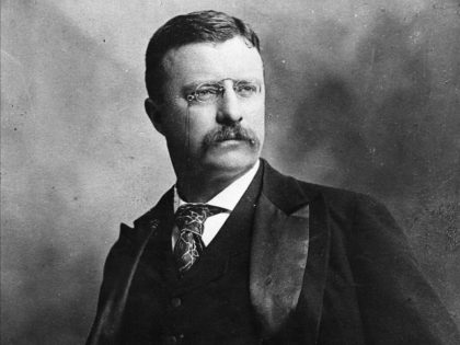Theodore Roosevelt (1858 - 1919) 26th President of the United States of America. Original Publication: People Disc - HK0170 (Photo by Hulton Archive/Getty Images)