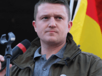 former English Defence League leader Tommy Robinson at a PEGIDA rally in Cologne, Germany, 9 January 2016 (photo by Rachel Megawhat/Breitbart London)
