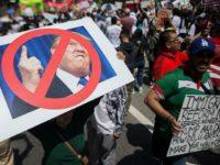 Trump LA protests Getty
