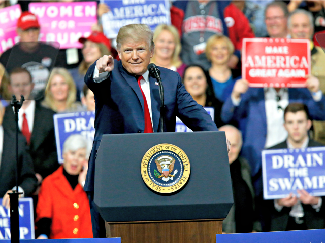 Trump unleashed at raucous rally for embattled Pennsylvania Republican