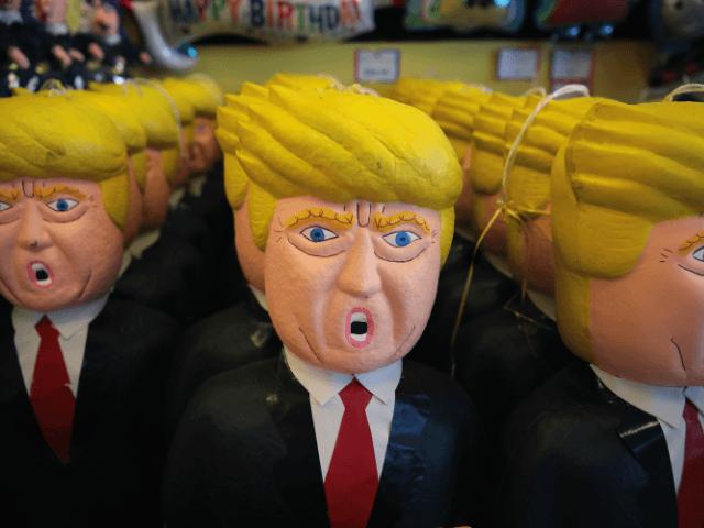 Mexican Pinatas of President Donald Trump