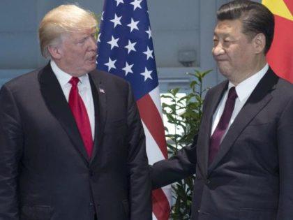 Trump and China Xi