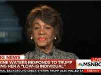 Watch: Waters Asked About Past Comment Comey 'Has No Credibility'