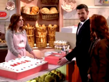 'Will & Grace' MAGA Cake Episode: Mike Pence Is Gay, Conservatives Are Nazis