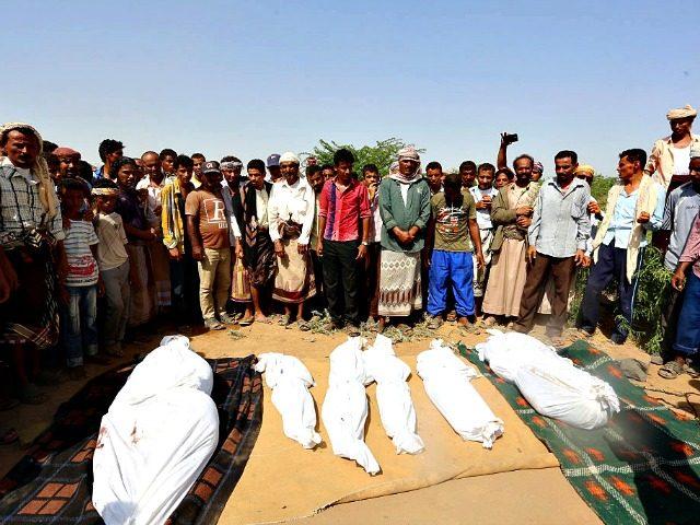 Yemen Funeral Saudi War