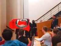 Antifa disrupts an event King's College London featuring YouTuber Sargon of Akkad