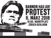 bannon protest