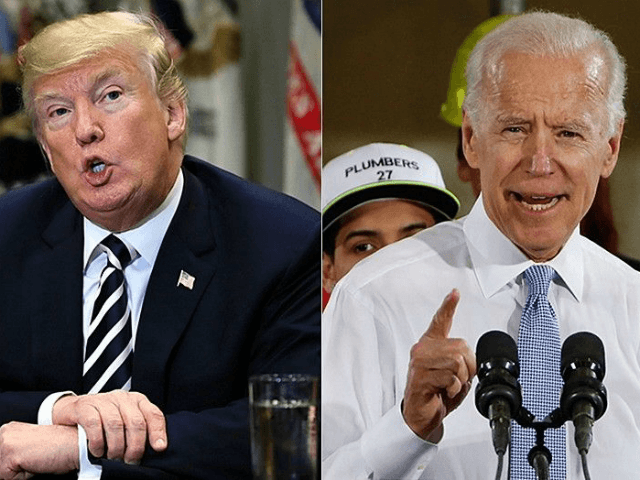"President Donald Trump reacted to former Vice President Joe Biden's comment that he would have ""beat the hell out of"" the president if they were in high school together."