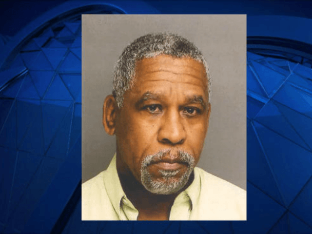 Carl Lemon, 63, allegedly made threatening remarks to another teacher, forcing police to react and put a Connecticut school on lockdown. (Bridgeport Police)