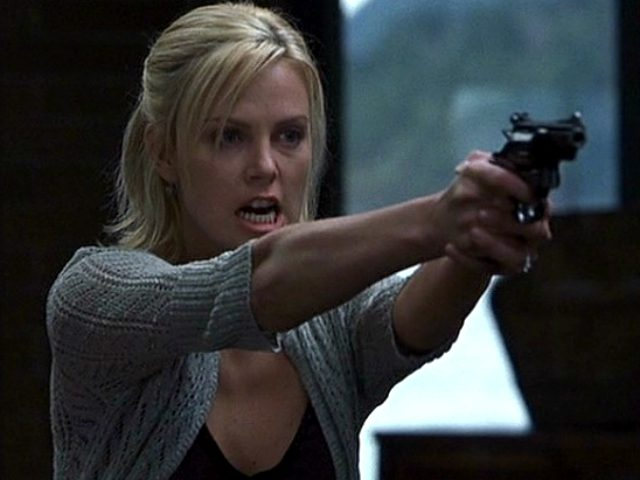 Charlize Theron in Trapped (2002, Columbia Pictures)