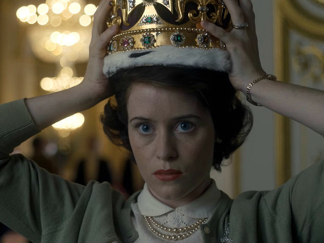 Claire Foy plays Queen Elizabeth in Netflix's The Crown