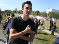 Nolte: Anti-Gun Parkland Student David Hogg Does Not Want His Backpack Rights Infringed Upon