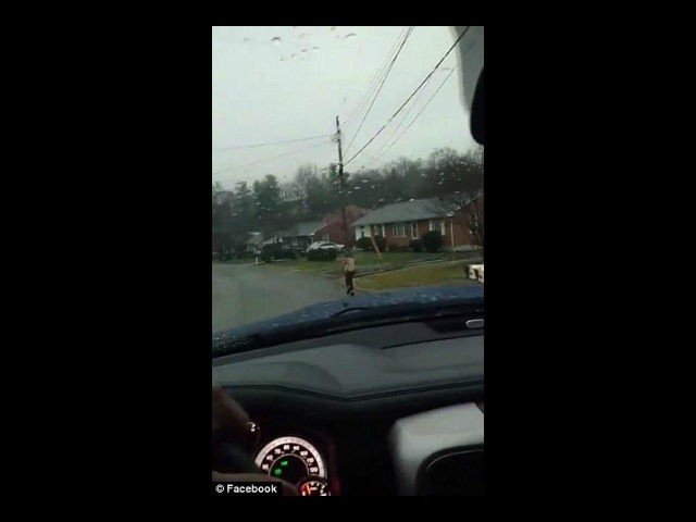 Bryan Thornhill, a Virginia father, made his ten-year-old son run to school in the rain as punishment for bullying his peers on the school bus.