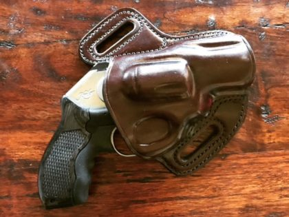 Last week Breitbart News visited the headquarters of Galco Gunleather and literally walked by table after table of leather holsters that were the product of American-made craftsmanship.
