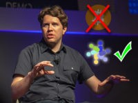 "Garrett Camp, founder of StumbleUpon and Uber, and now the creator of the ""Eco"" cryptocurrency."