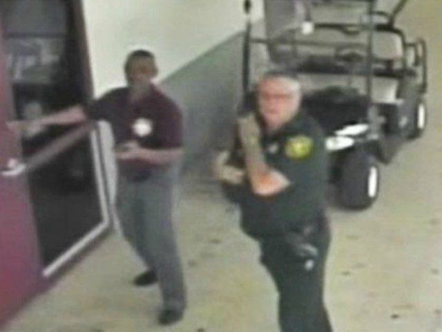 Surveillance video shows moments before Stoneman Douglas shooting