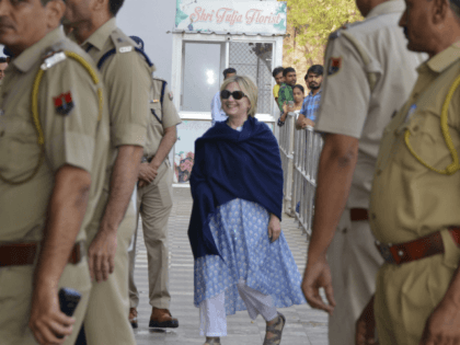 Hillary Clinton Slips in Bathtub in India; Fractures Hand