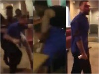 WATCH: Violent IHOP Customers Throw Chairs, Glassware at Manager