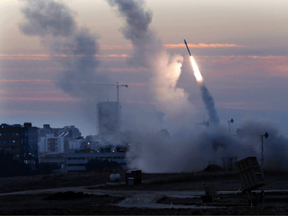 Watch: Gaza Terror Rockets Explode Over Israeli Concert