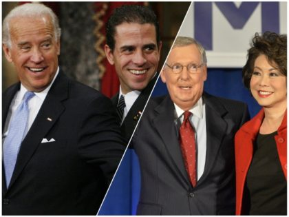joe-biden-hunter-biden-mitch-mcconnell-elaine-chao-ap