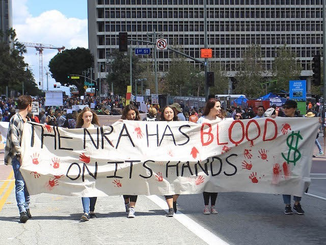 Photo by: STRF/STAR MAX/IPx 2018 3/24/18 Atmosphere at 'March For Our Lives' in Los Angeles, CA.