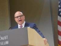 United States Army Officer and National Security Adviser H.R. McMaster spoke at the United States Holocaust Memorial Museum on Thursday about the ongoing civil war in Syria. (Penny Starr/Breitbart News)