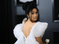 Cardi B arrives for the 60th Grammy Awards on January 28, 2018, in New York. / AFP PHOTO / Jewel SAMAD (Photo credit should read JEWEL SAMAD/AFP/Getty Images) Editorial subscription SML 4327 x 2884 px | 36.64 x 24.42 cm @ 300 dpi | 12.5 MP Size Guide Add notes …