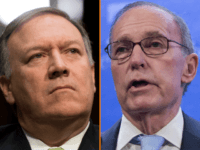 Larry Kudlow and Mike Pompeo
