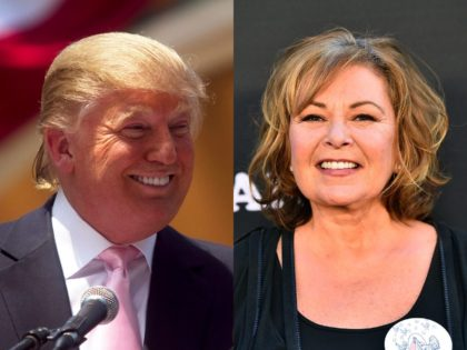 President Donald Trump personally phoned Roseanne Barr on Wednesday to congratulate her on her show's impressive debut.