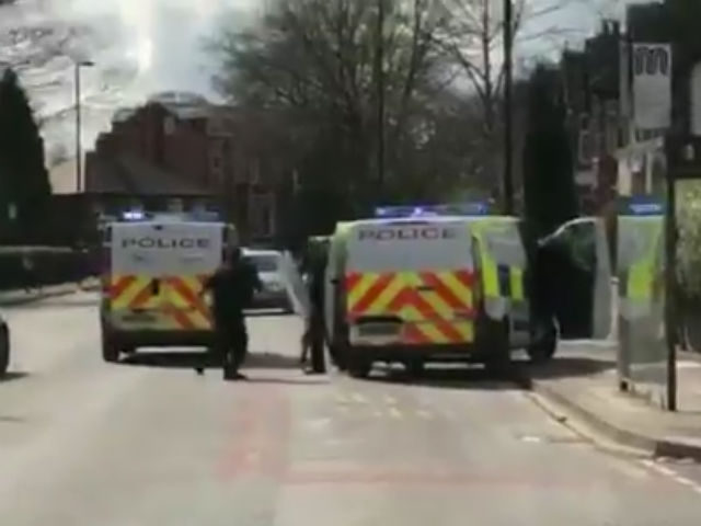 Police officer seriously injured in Manchester sword attack