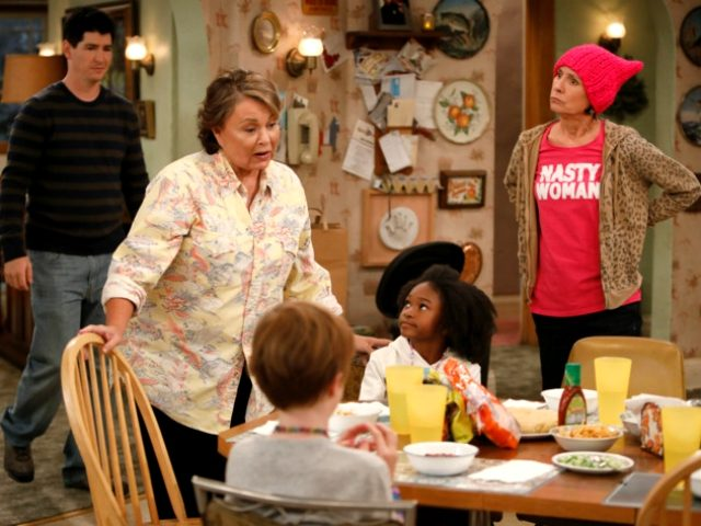 Roseanne Barr, Laurie Metcalf in ABC's rebooted sitcom Roseanne (ABC, 2018)